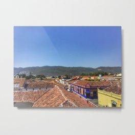 Rooftops in San Cristobal Metal Print