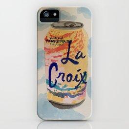 Pamplemousse La Croix iPhone Case