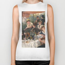 Luncheon of the Boating Party by Renoir Biker Tank