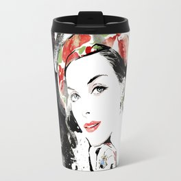 Vogue Fashion Illustration #16 Travel Mug