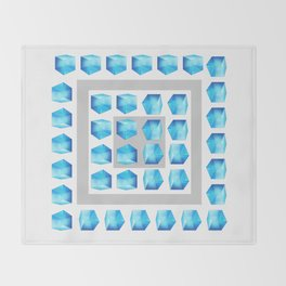 On the Rocks Throw Blanket