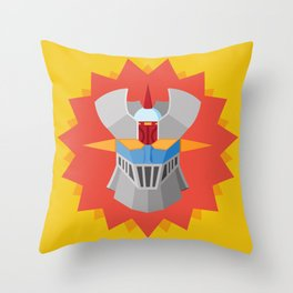 Mazinger Throw Pillow