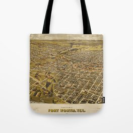 Fort Worth, Texas 1891 Tote Bag