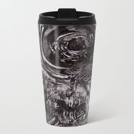 A Mechanized Immortality In Empty Tombs Metal Travel Mug