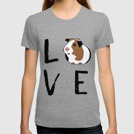 Guinea Pig Gift Love Guinea Pig Guinea Pig Lovers Birthday Present T-shirt