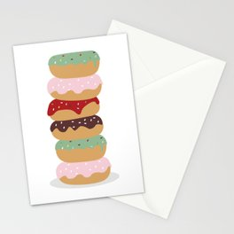 Mountain of Donuts in my Dream Stationery Cards