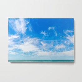 The Great Blue Sky Metal Print