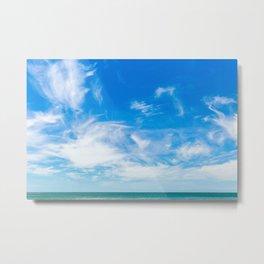 The Great Blue Sky Metal Print