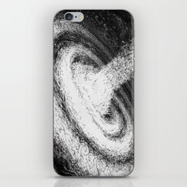 Galaxy Particles Infinite iPhone Skin