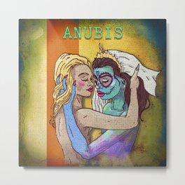 Aunbis Metal Print