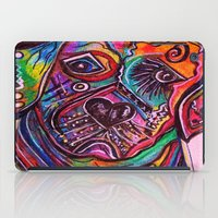 lab iPad Cases featuring Lovable Lab by EloiseArt