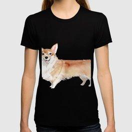 Cute Corgi dog breed illustration T-shirt