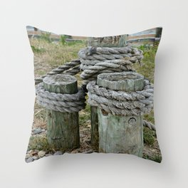 Tightly Secured Throw Pillow