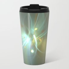 Holiday Glow Fractal Travel Mug