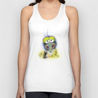 muppets Tank Tops featuring Gonzo, The Muppets by KitschyPopShop