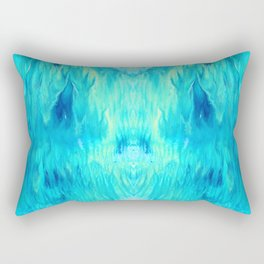 Bleu Rectangular Pillow