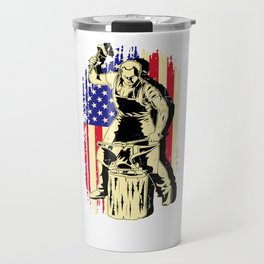 Blacksmith Metal Worker Iron St Clements Day Travel Mug