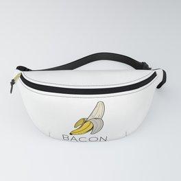 Vegan // banana // bacon Fanny Pack