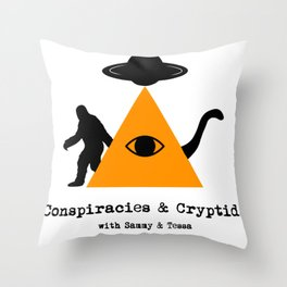 C&C Logo Throw Pillow