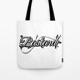 Graphic Bastard Tote Bag