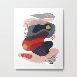 Modern minimal forms 8 Metal Print