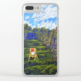 Upstate Apple Farm Clear iPhone Case