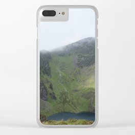 Wales Landscape 20 Cader Idris Mountain Lake Clear iPhone Case