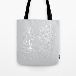 Subtle Cacti Tote Bag