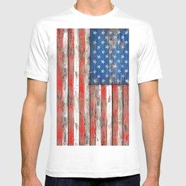 USA Vintage Wood T-shirt