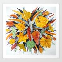 A Bush Bouquet Art Print