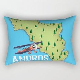Andros Greece. Rectangular Pillow