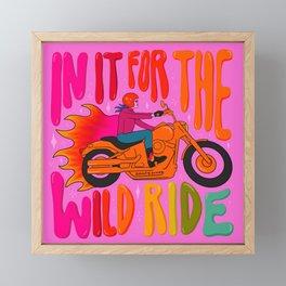 Wild Ride Framed Mini Art Print