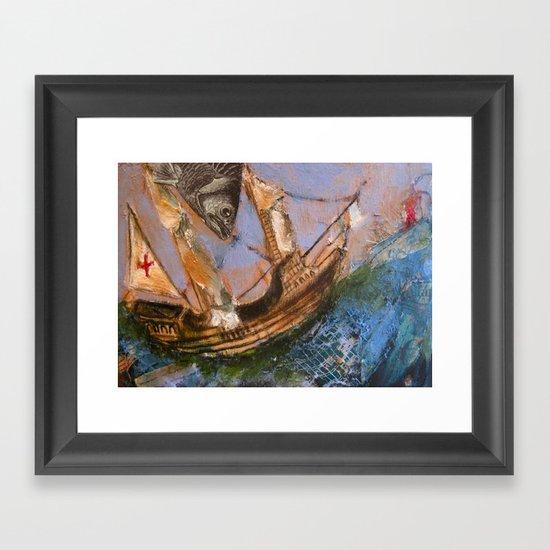 Sea Worthy Framed Art Print