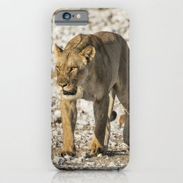 Lioness on the Move iPhone Case