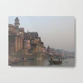 The Sacred Ganges River in India (2004f) Metal Print