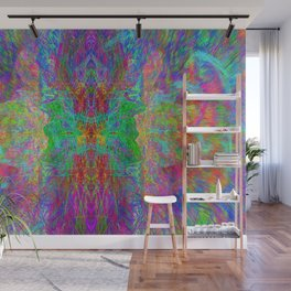 Lightworker In The Zephyr (abstract, visionary) Wall Mural