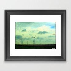Cartwheel Giants Framed Art Print
