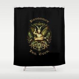 Baphomet Shower Curtain