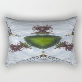 Tree Shield Rectangular Pillow