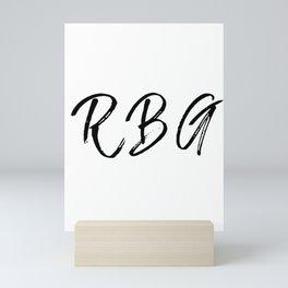 RBG Mini Art Print