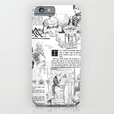 Pride and Prejudice - Pages Slim Case iPhone 6s