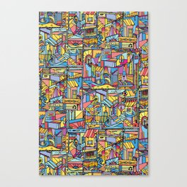 Slum Urban Canvas Print