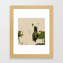 Chinese crested 3 Framed Art Print
