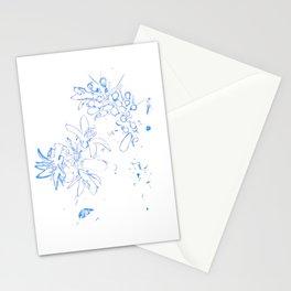 OB Blue & White Stationery Cards