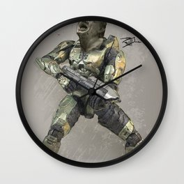 Headshot Wall Clock