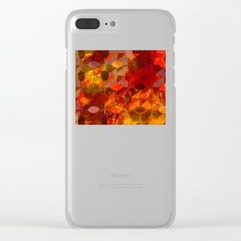 Scorched Earth. Clear iPhone Case