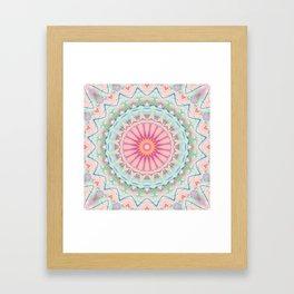 Mandala pastel no. 5 Framed Art Print