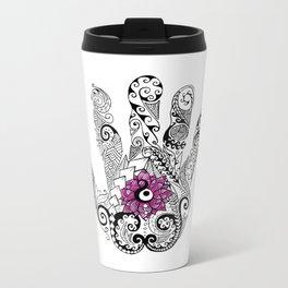 Solution - Flower Metal Travel Mug