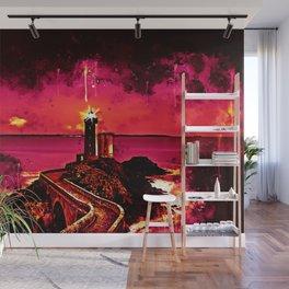 lighthouse plouzane wsor Wall Mural