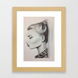Iggy Azalea Framed Art Print